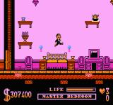 The Addams Family NES Master's bedroom