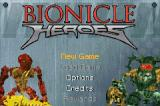 BIONICLE Heroes Game Boy Advance Title screen