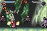 Naruto: Ninja Council 2 Game Boy Advance Sakura using one of her special jutsus