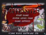 Offensive DOS Main menu