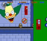 Virtual Bart SNES If Pig Bart falls into one of the machines, he'll soon become canned ham