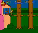 Virtual Bart SNES Baby Bart stages a prison break and wants to go explore the neighbourhood