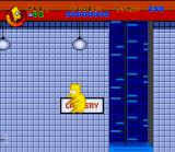 Virtual Bart SNES It's a dangerous life for a pig, leaping over obstacles and away from machinery