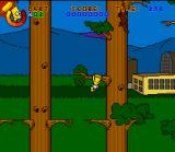 Virtual Bart SNES Baby Bart cannot touch the ground, he must swing from branches and other objects