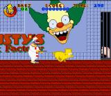 Virtual Bart SNES Pig Bart must escape from Krusty's packaged ham factory