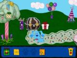 Blue's Clues: Blue's Birthday Adventure Windows This is the land of birthday things