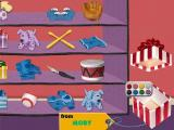 Blue's Clues: Blue's Birthday Adventure Windows Picking a present for Blue, from you