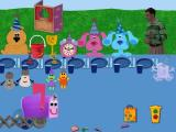 Blue's Clues: Blue's Birthday Adventure Windows The birthday party, with lots of Blue's friends