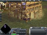 Empire Earth III Windows A building is being build.