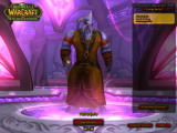 World of Warcraft: The Burning Crusade Windows The Draenei. One of BC's new races.