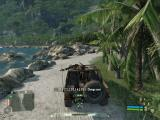 Crysis Windows Cruising around in a jeep with my dead Korean friend on the MG.