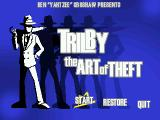 Trilby: The Art of Theft Windows Main game screen