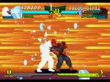 Marvel Super Heroes vs. Street Fighter PlayStation Now, Dan Hibiki successfully performs his almost suicidal Hyper Combo Otoko-Michi against Akuma...