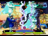 Marvel Super Heroes vs. Street Fighter PlayStation To avoid Blackheart's move Inferno (Shock version), M. Bison takes full advantage of his Bison Warp.