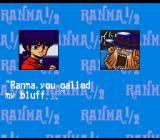 Ranma 1/2: Hard Battle SNES Post-battle cinematic