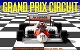 Grand Prix Circuit Amiga Title screen