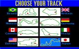 Grand Prix Circuit Amiga There are eight tracks available.
