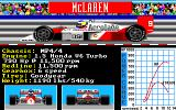Grand Prix Circuit Amiga McLaren MP4/4