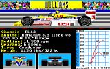 Grand Prix Circuit Amiga Williams FW12