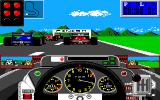 Grand Prix Circuit Amiga Waiting for the green lights.