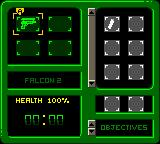 Perfect Dark Game Boy Color Your inventory can be called up to check objectives and how much health and ammo you have