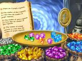 Disney's Math Quest with Aladdin Windows Follow the logic to create a magic potion