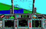 F-16 Combat Pilot DOS This suspension bridge marks the peak of detail in the EGA landscapes. Still, not bad for 1989.