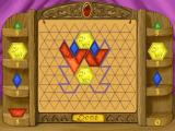 Disney's Math Quest with Aladdin Windows Who can be the one to use the last tangram?