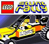 LEGO Stunt Rally Game Boy Color Title screen