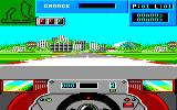 Grand Prix Circuit Amstrad CPC At the start of qualification in Brazil...