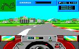 Grand Prix Circuit Amstrad CPC Driving alone in Monaco...