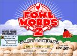 Fowl Words 2: Trouble at the Chicken Ranch! Windows Title screen / main menu