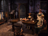 Koudelka PlayStation Sitting at a table with Ogdon and Betsy Hartman