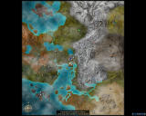 Guild Wars: Eye of the North Windows The world map of Tyria (combined Prophecies and Eye of the North)