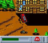 Matchbox: Emergency Patrol Game Boy Color A fire at an old wooden shack in the woods