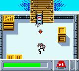 Matchbox: Emergency Patrol Game Boy Color Chasing a crook through the docks.