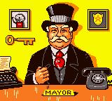 Matchbox: Emergency Patrol Game Boy Color The mayor of the city