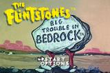 The Flintstones: Big Trouble in Bedrock Game Boy Advance Title screen