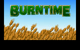 Burntime DOS Main title