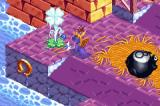 Spyro 2: Season of Flame Game Boy Advance Using your breath on different staffs to see what happens.