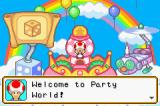 Mario Party Advance Game Boy Advance A mushroom that welcomes you.