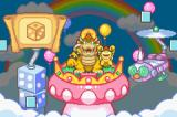 Mario Party Advance Game Boy Advance Unfortunately Bowser comes and scatters all gadgets and minigames.