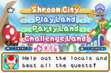 Mario Party Advance Game Boy Advance Main menu