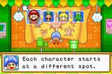 Mario Party Advance Game Boy Advance Selecting a character.