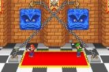 Mario Party Advance Game Boy Advance Here for example you play a minigame where you have to cut the chain first.