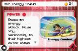 Dragon Ball Z Collectible Card Game Game Boy Advance Red Energy Shield card