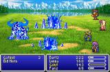Final Fantasy V Advance Game Boy Advance Galuf casting Blizzard.
