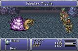 Final Fantasy III Game Boy Advance Boss fight