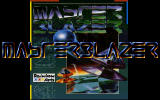 Masterblazer DOS Title screen (VGA).