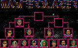 Masterblazer DOS Eight players may compete in tournament (VGA).